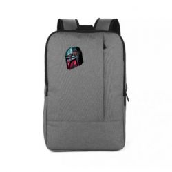 Рюкзак для ноутбука Mandalorian Helmet profil