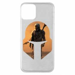 Чехол для iPhone 11 Mandalorian Helmet