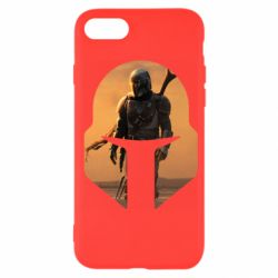 Чехол для iPhone 7 Mandalorian Helmet
