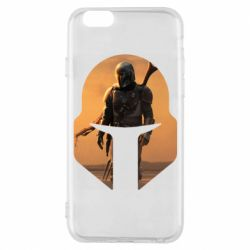 Чехол для iPhone 6/6S Mandalorian Helmet