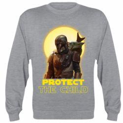 Реглан (свитшот) Mandalorian the child