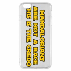 Чехол для iPhone 6 Plus/6S Plus Mandalorians are not a race - this is the credo