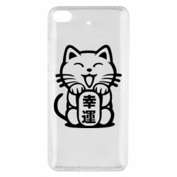 Чехол для Xiaomi Mi 5s Maneki-neko, cat bringing luck
