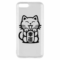Чехол для Xiaomi Mi6 Maneki-neko, cat bringing luck