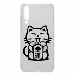 Чехол для Xiaomi Mi9 Maneki-neko, cat bringing luck