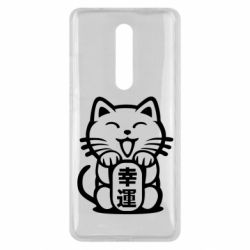 Чехол для Xiaomi Mi9T Maneki-neko, cat bringing luck