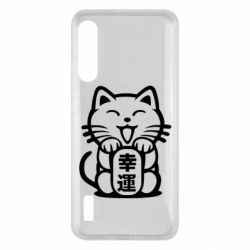 Чохол для Xiaomi Mi A3 Maneki-neko, cat bringing luck