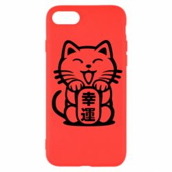 Чехол для iPhone 7 Maneki-neko, cat bringing luck