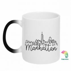 Кружка-хамелеон Manhattan