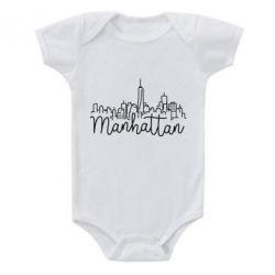 Дитячий бодік Manhattan