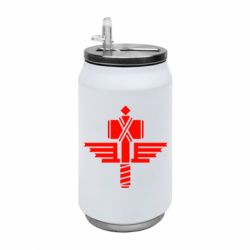 Термобанка 350ml Manowar Logo
