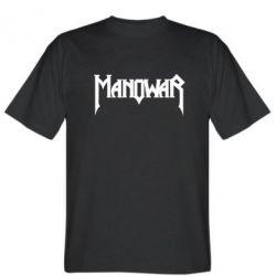 Мужская футболка Manowar - FatLine