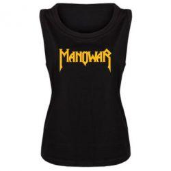 Женская майка Manowar - FatLine