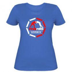 Женская футболка Manto Zaporozhye - FatLine