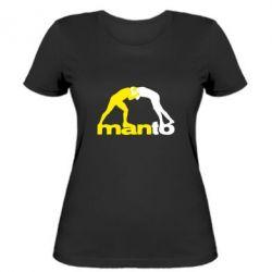 Женская футболка Manto
