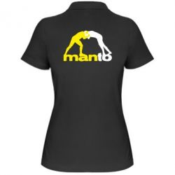 Женская футболка поло Manto
