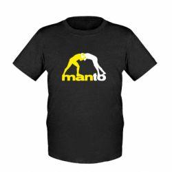 Детская футболка Manto