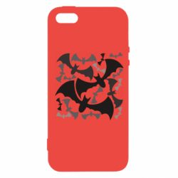 Чехол для iPhone5/5S/SE Many bats
