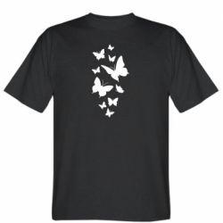Чоловіча футболка Many butterflies