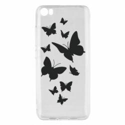 Чехол для Xiaomi Mi5/Mi5 Pro Many butterflies