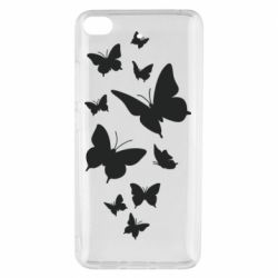 Чехол для Xiaomi Mi 5s Many butterflies