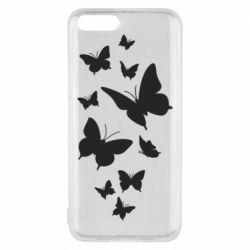 Чехол для Xiaomi Mi6 Many butterflies