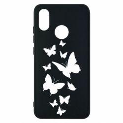 Чехол для Xiaomi Mi8 Many butterflies