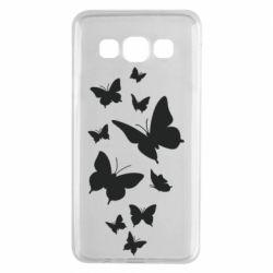 Чохол для Samsung A3 2015 Many butterflies