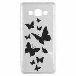 Чохол для Samsung A5 2015 Many butterflies