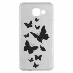 Чохол для Samsung A5 2016 Many butterflies