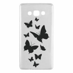 Чохол для Samsung A7 2015 Many butterflies