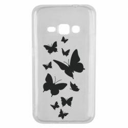 Чохол для Samsung J1 2016 Many butterflies