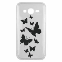 Чохол для Samsung J5 2015 Many butterflies