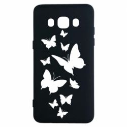 Чохол для Samsung J5 2016 Many butterflies