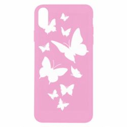 Чохол для iPhone Xs Max Many butterflies