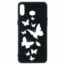 Чохол для Samsung A6s Many butterflies