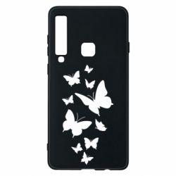 Чохол для Samsung A9 2018 Many butterflies
