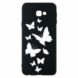 Чохол для Samsung J4 Plus 2018 Many butterflies