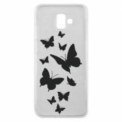 Чохол для Samsung J6 Plus 2018 Many butterflies