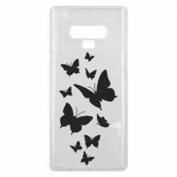 Чохол для Samsung Note 9 Many butterflies