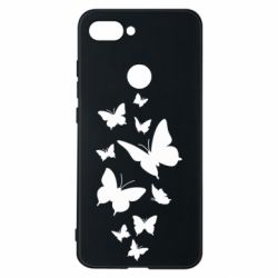 Чехол для Xiaomi Mi8 Lite Many butterflies