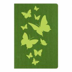 Блокнот А5 Many butterflies