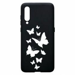 Чехол для Xiaomi Mi9 Many butterflies