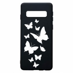 Чохол для Samsung S10 Many butterflies