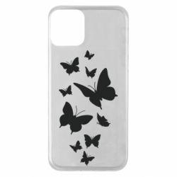 Чохол для iPhone 11 Many butterflies