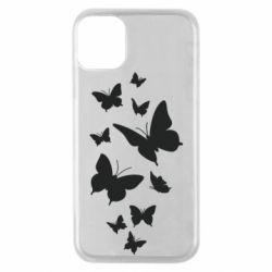 Чохол для iPhone 11 Pro Many butterflies