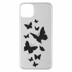 Чохол для iPhone 11 Pro Max Many butterflies