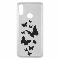 Чохол для Samsung A10s Many butterflies