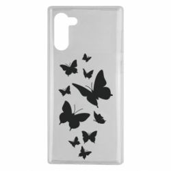 Чохол для Samsung Note 10 Many butterflies