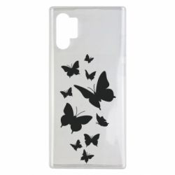 Чохол для Samsung Note 10 Plus Many butterflies